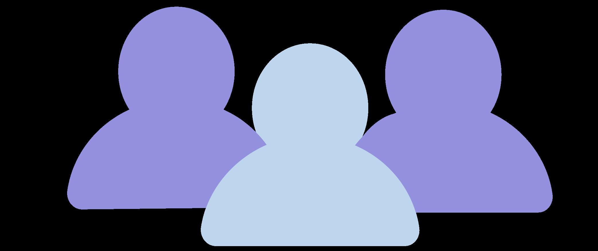 Purple team icon