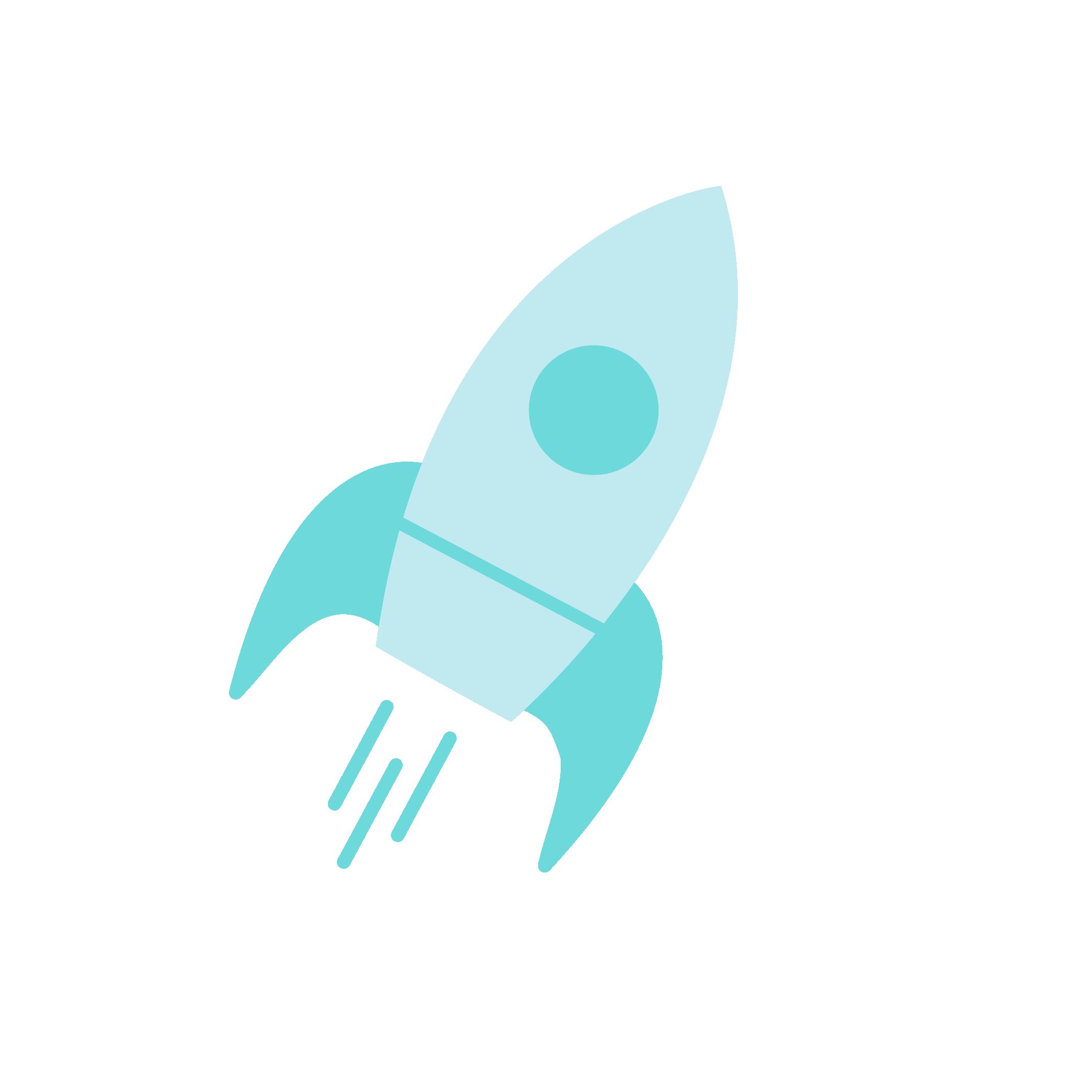 Rocket, Scaleup Icon