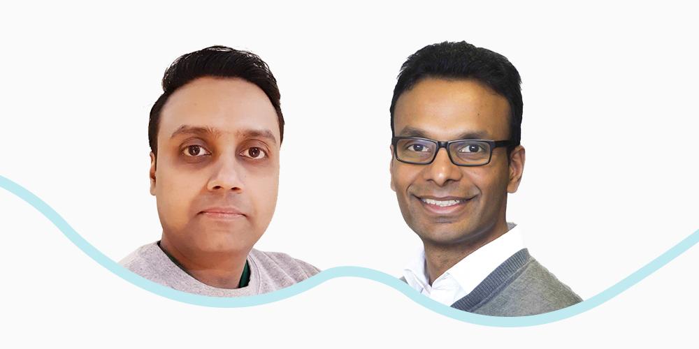 Image of founders, Karthik Narayanan and Anta Pattabiraman