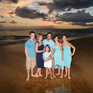 Kurtis Squyers and Family