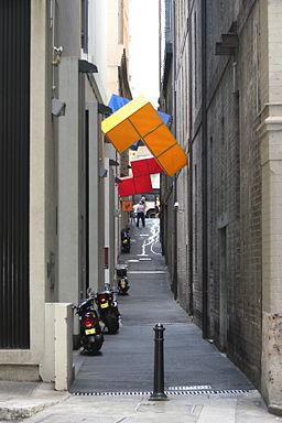 Tetris Alley, Sydney Australia