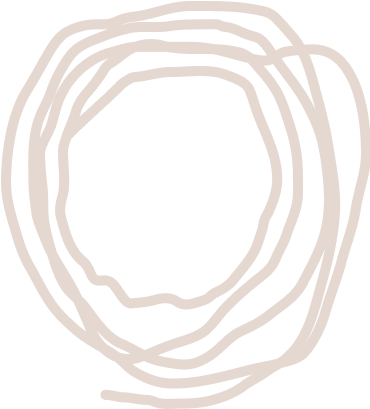 Organic circle pattern