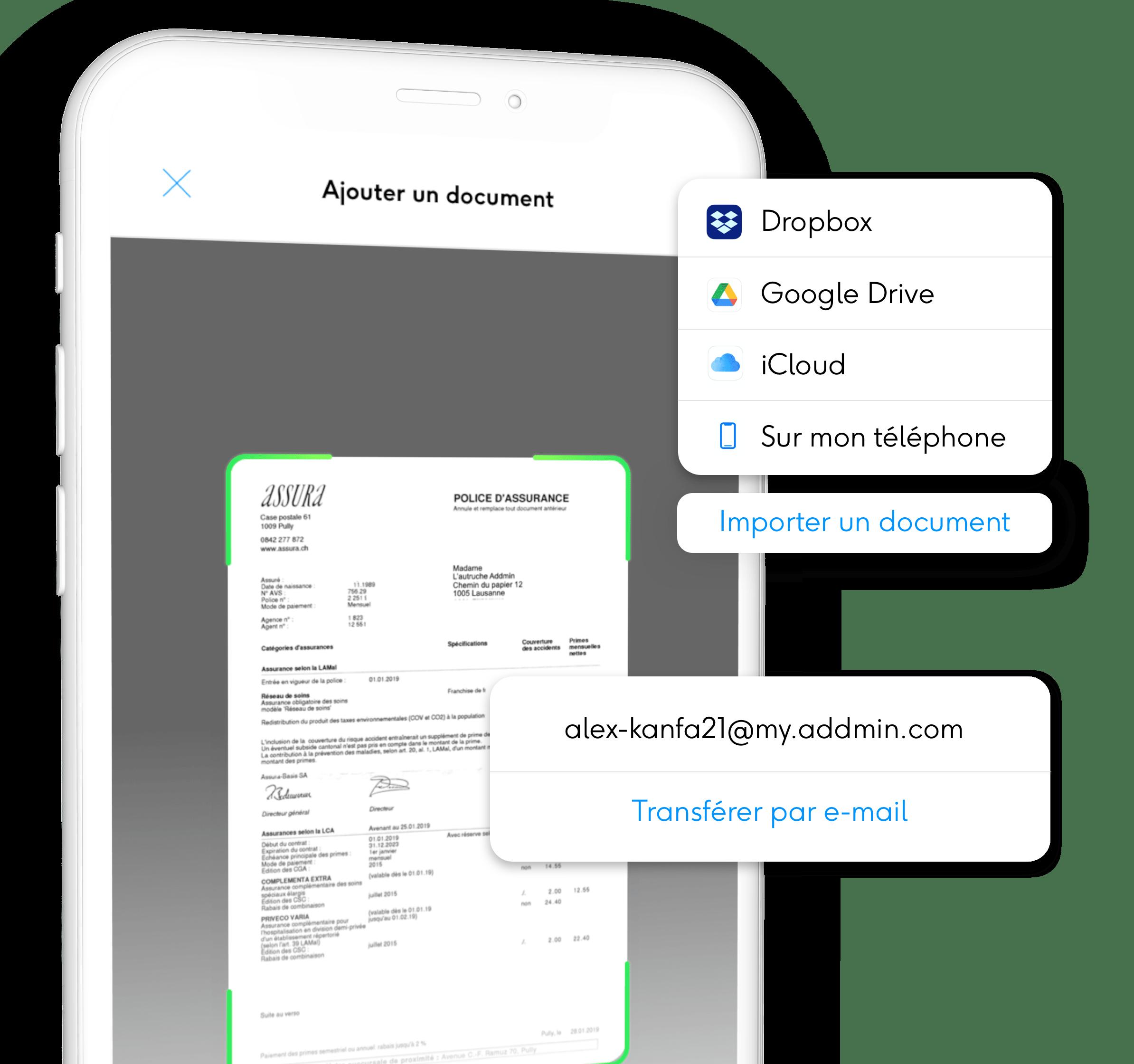 Ajouter un document