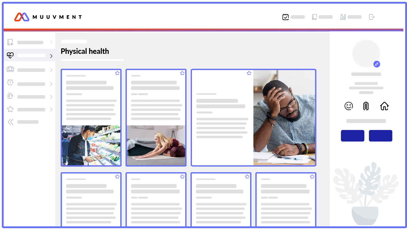 People product screenshot resources page
