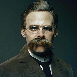 Photo of Friedrich Nietzsche.