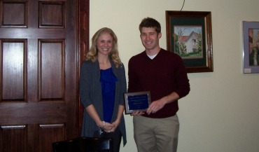 Young Professionals Marshall County Award Winner