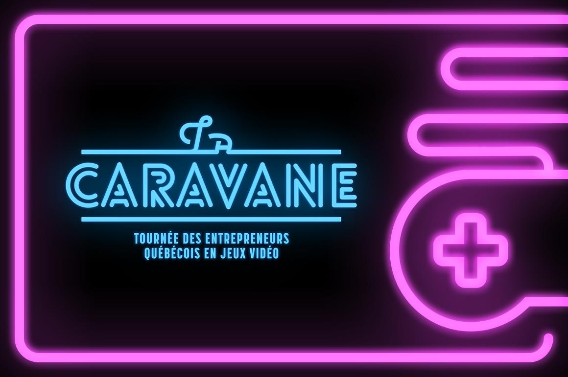 La Caravane - Banner