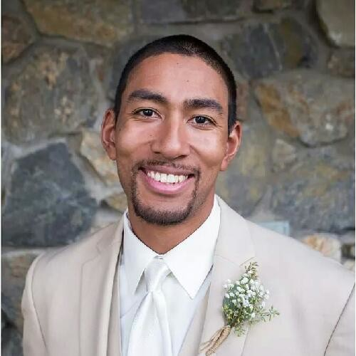 smiling man in suit photo