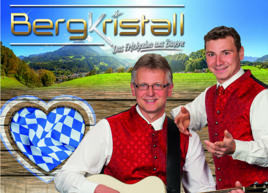 Laußnitzer Hof mit dem Duo Bergkristall