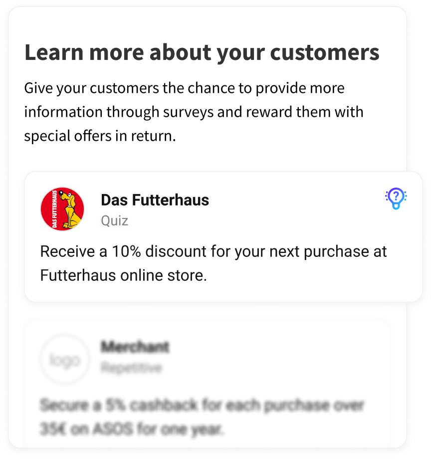 Learn more about your customers
