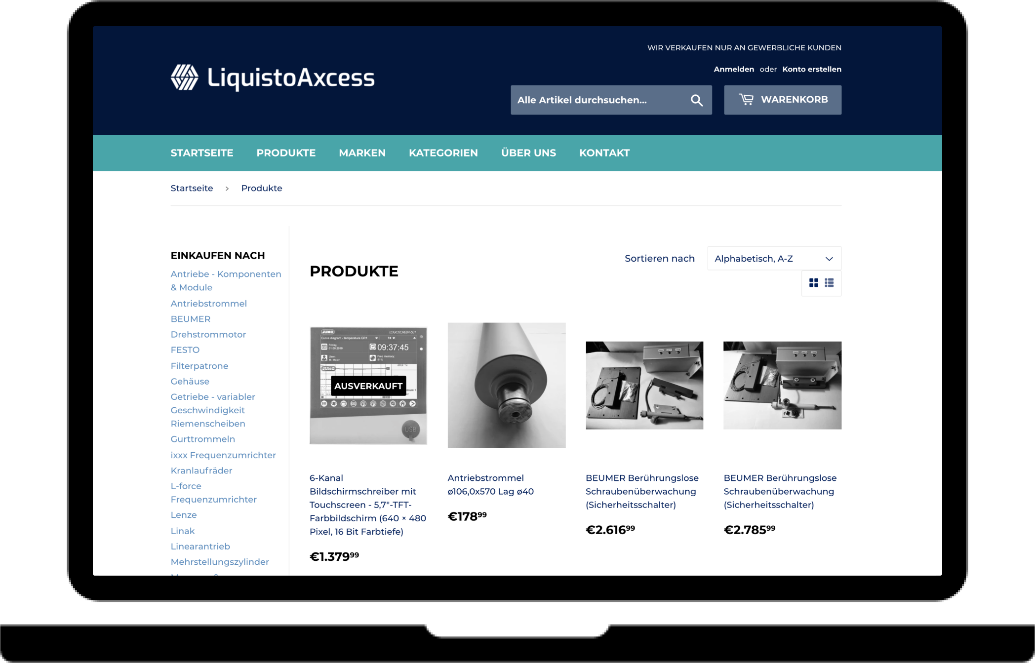 LiquistoAxcess solution for buyers