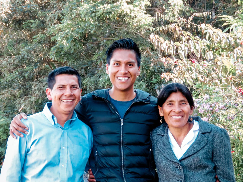 Ervin, Ana, and Isidro Liz Native Root Nasa native coffee farmers