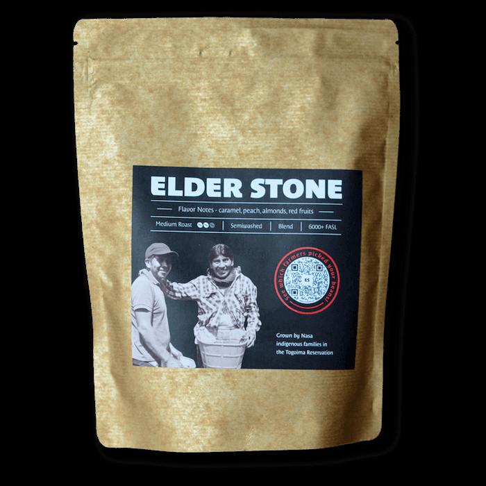 Elder Stone Coffee bag Native Root Colombian Craft coffee