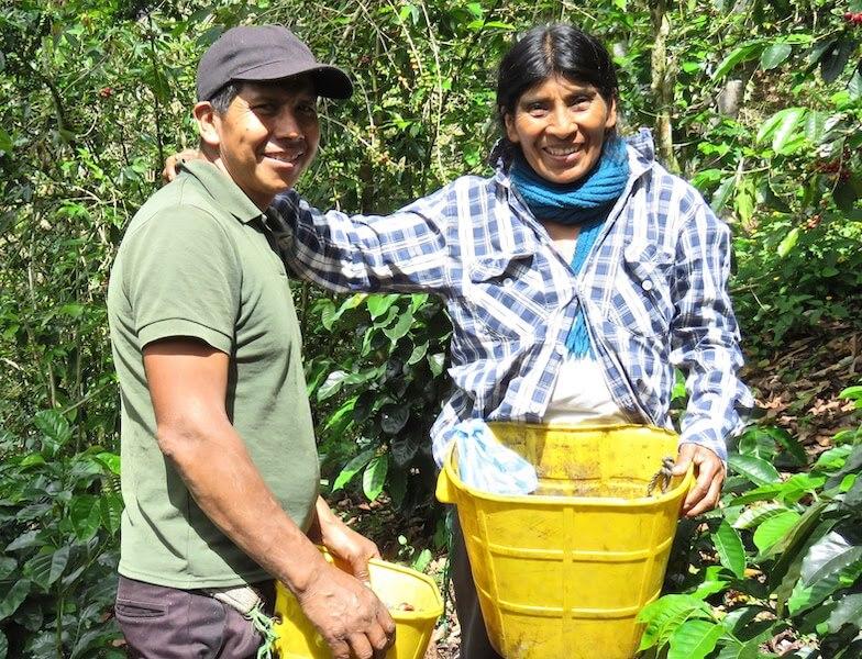 Ana and Isidro Liz farmers Native Root Colombian Craft coffee