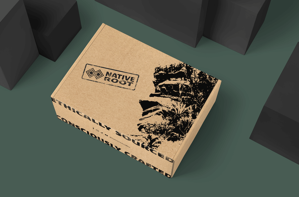 Native Root coffee sample box