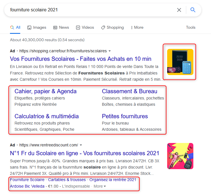 extension google