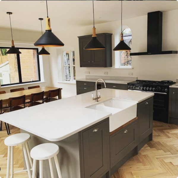 New kitchen completed on finance with Kanda