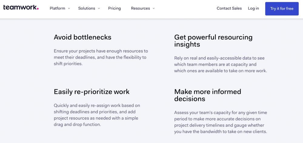teamwork product description