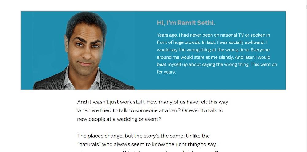 ramit sethi landing page copywriting