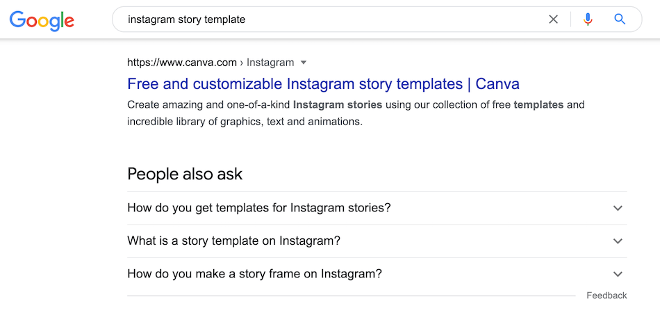 Canva Instagram Story template