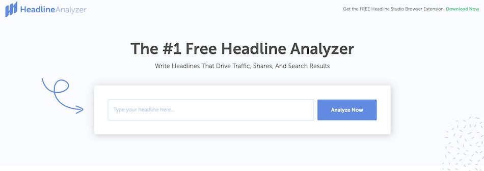 Coschedule headline analyzer tool
