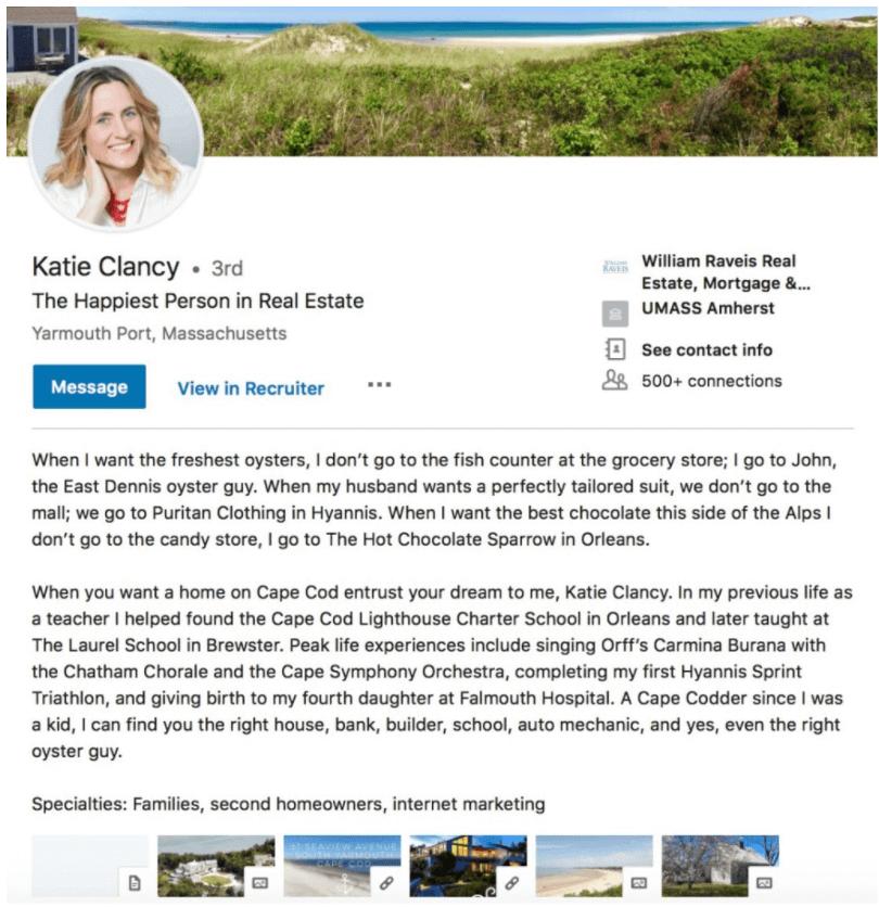 Katie Clancy LinkedIn Bio