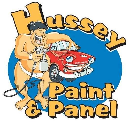 Hussey paint and panel logo