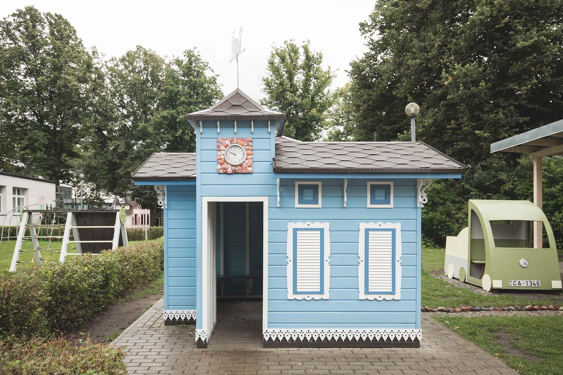Rotaļu māja Liepājas bērnudārzā
