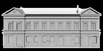 Liepājas Latviešu biedrības nama 3D modelis