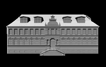 Liepājas rāts nama 3D modelis