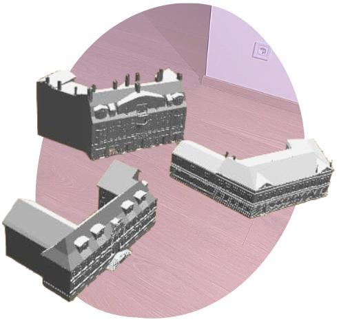 Lietotnes 3D ēkas Liepājā demo