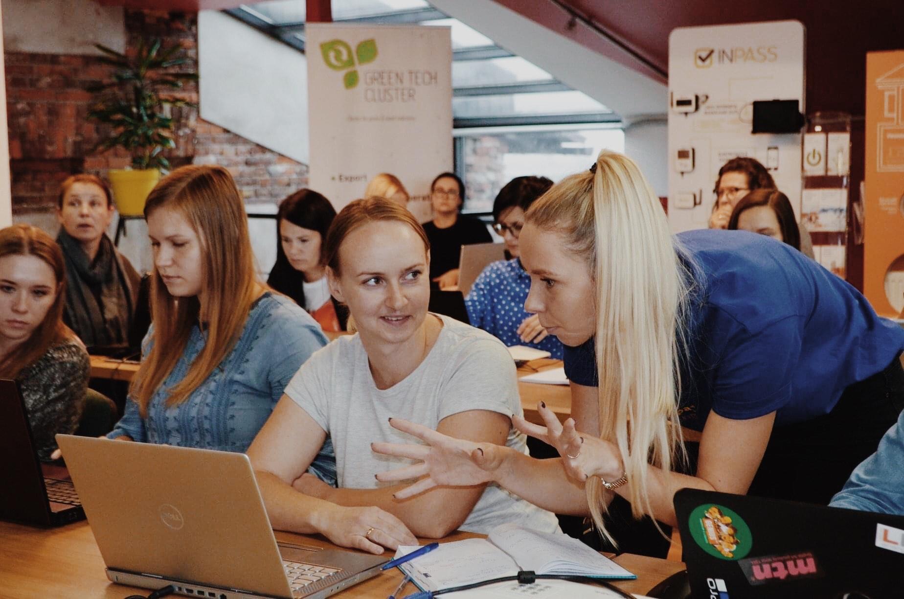 Liepājas tehnoloģiju dāmu kopiena - Liepaja TechGirls
