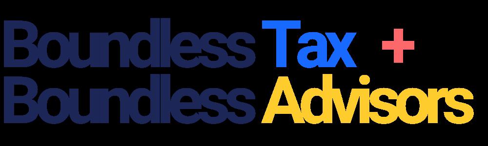Boundless Tax + Boundless Advisors Logo
