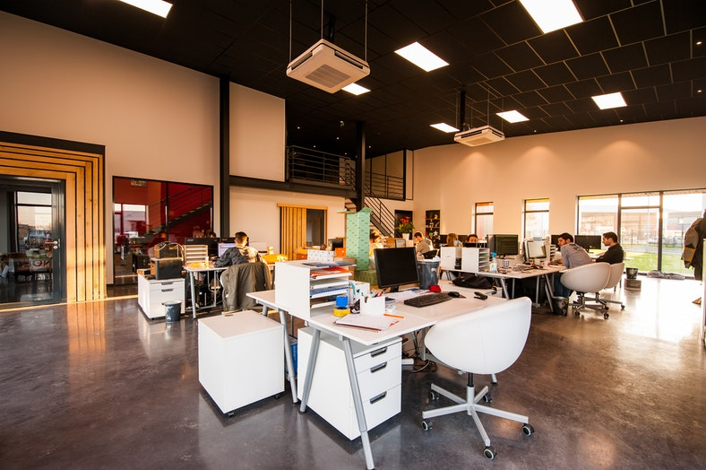 One of our co-working spaces we use at Boundless Advisors.