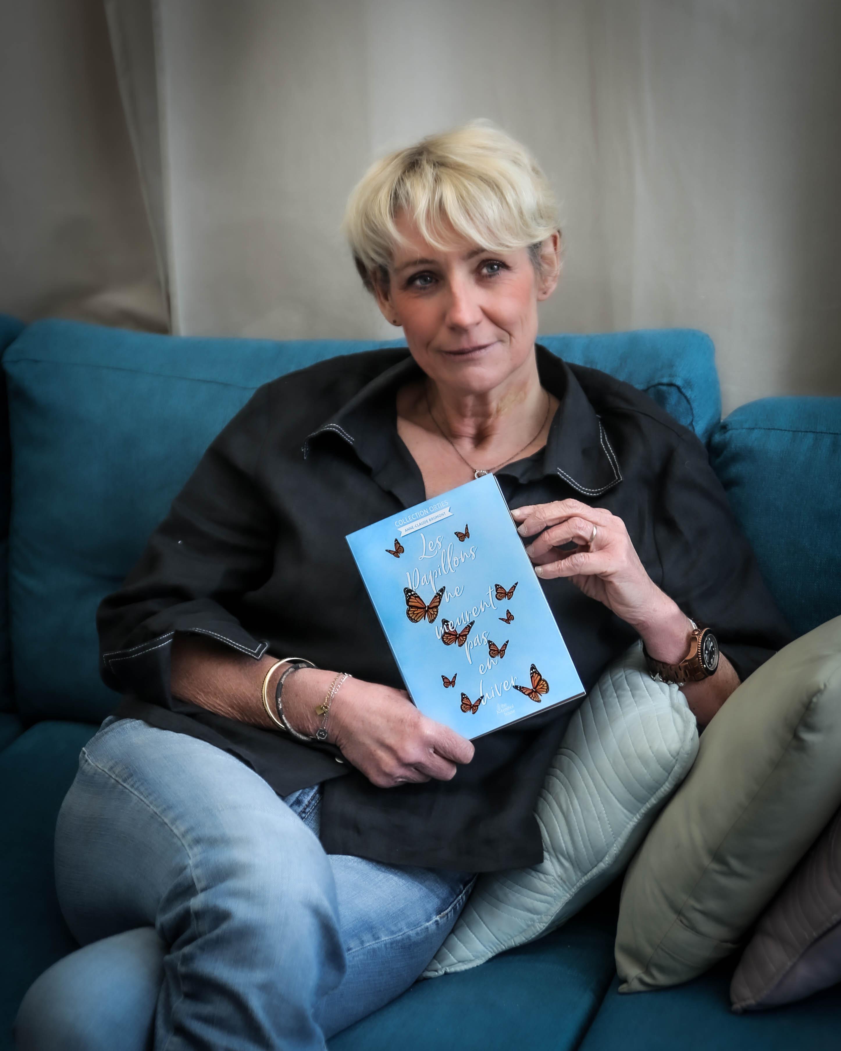 L'auteur Anne Claude Brumont et son roman