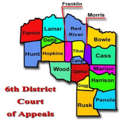 Sixth District Court Of Appeals Map