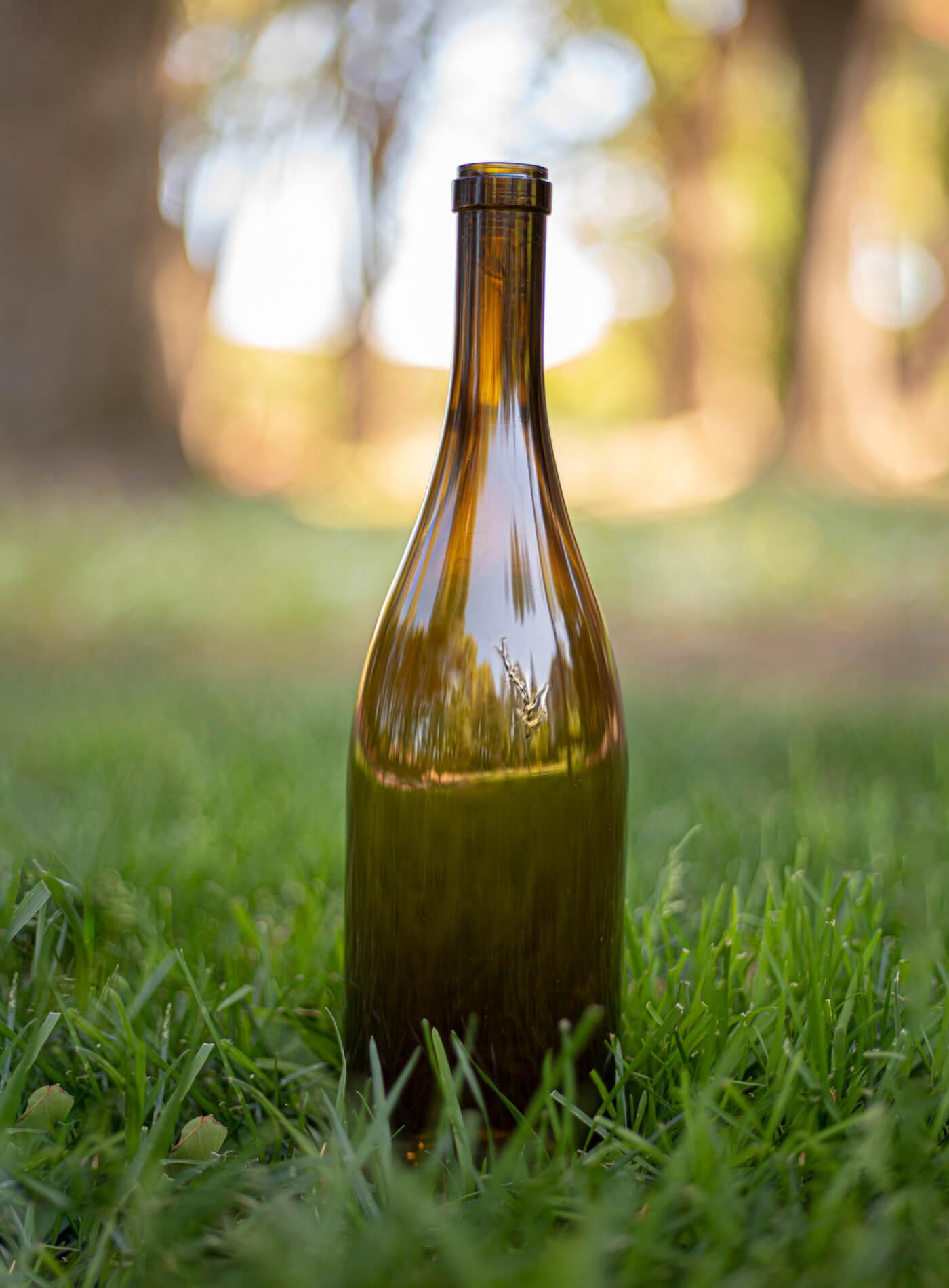 Verre Vert Sustainable and Cost-Effective Wine Bottle
