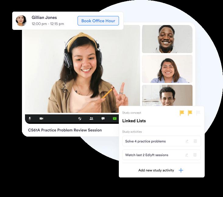 A Screenshot between conversation of Mentor and Student