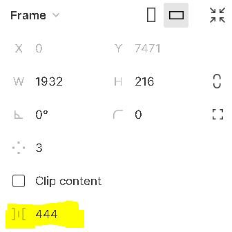 Image of the section I recommend changing the spacing.