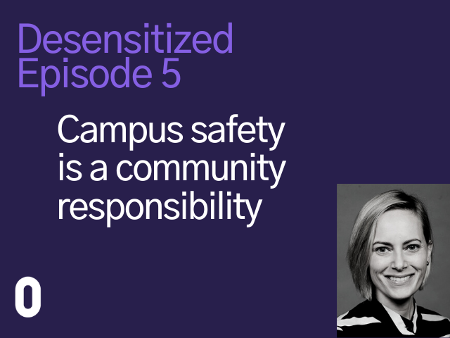 Jessica Mertz from Clery Center discusses campus safety as a community responsibility