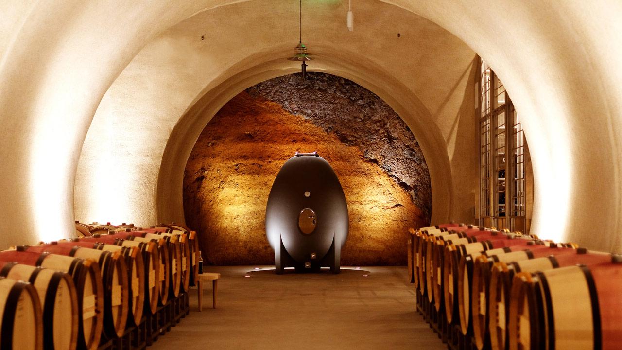 Hamel Family Wines cellar