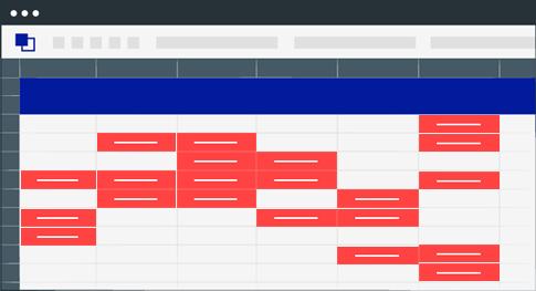 Screen showing medical database