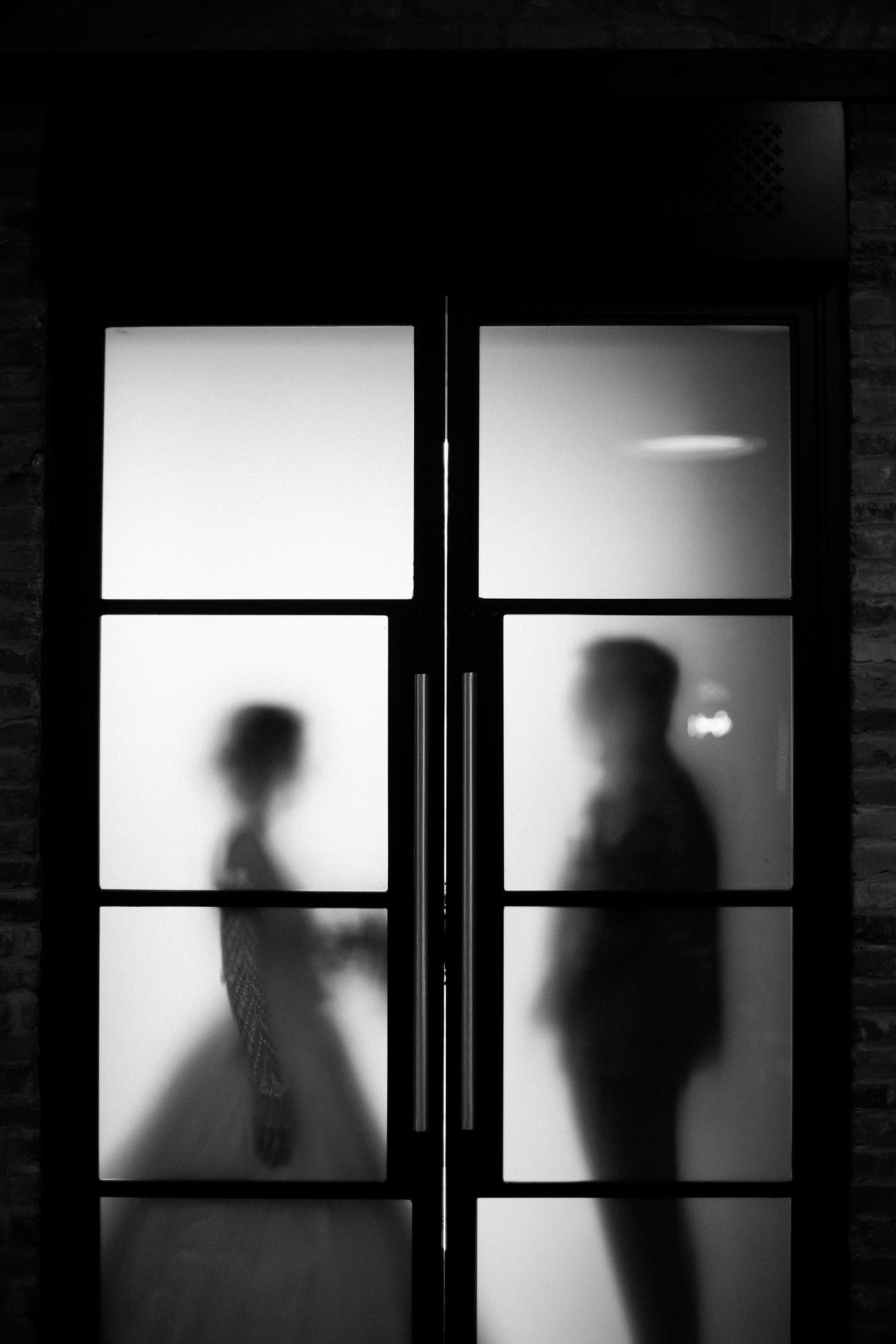 Silhouettes as seen from Adelaide Hall
