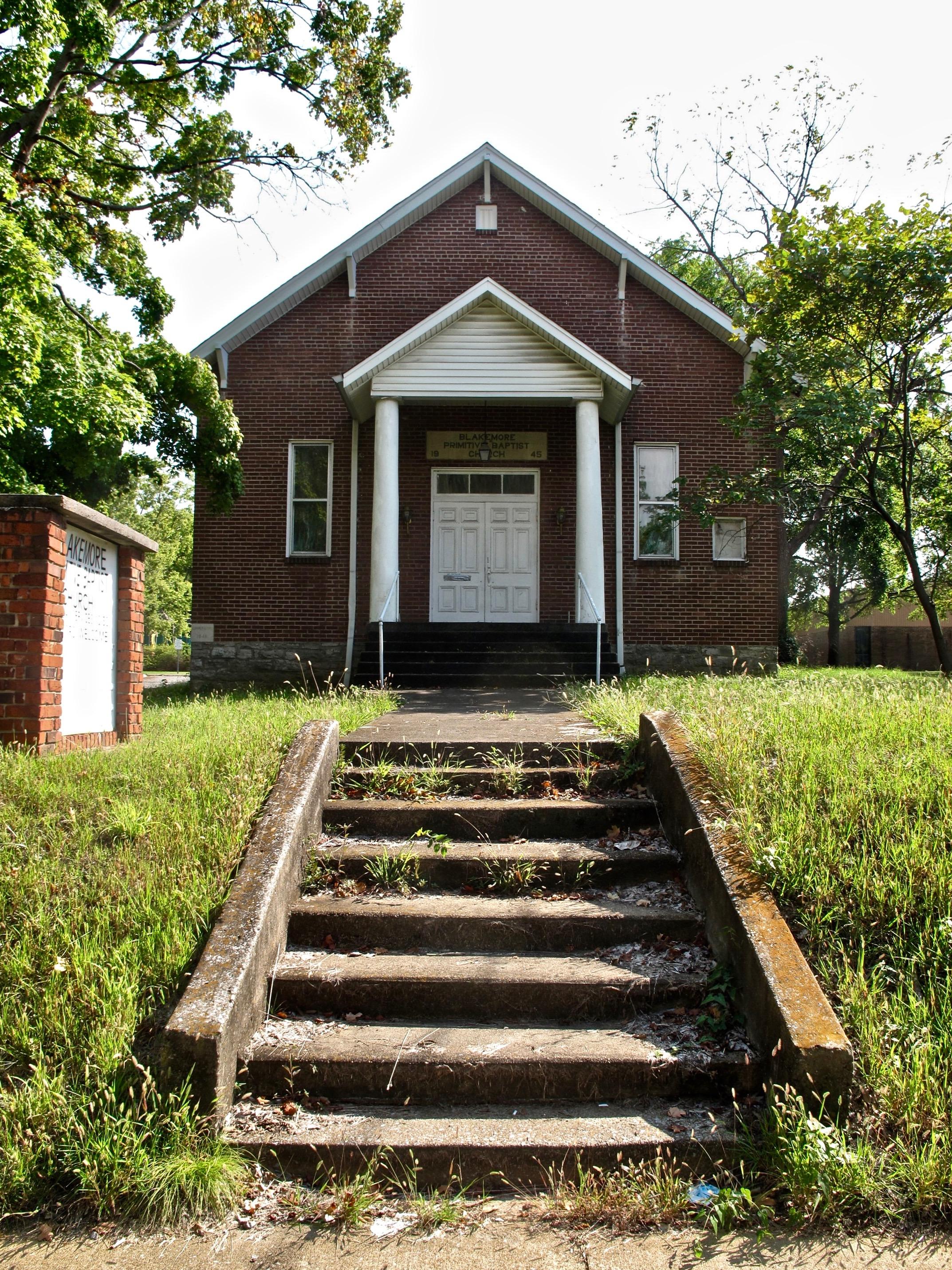 Blakemore Primitive Baptist Church, Ruby's predecessor