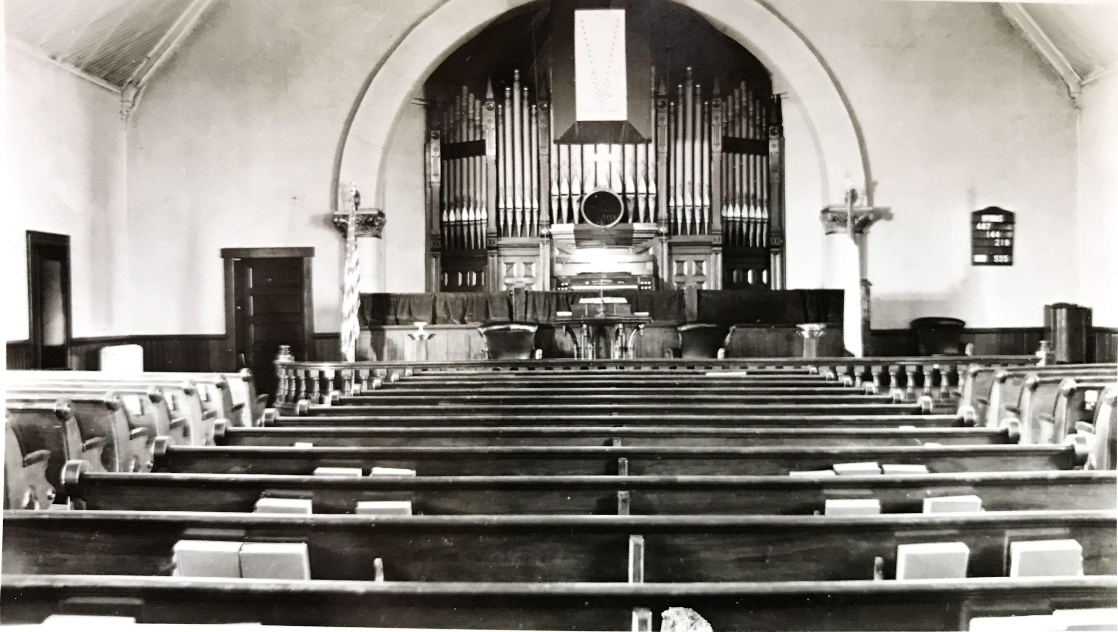 West Nashville United Methodist pipe organ