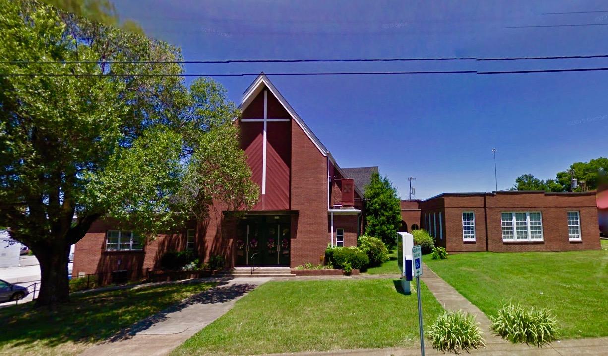 West Nashville United Methodist Church before Clementine