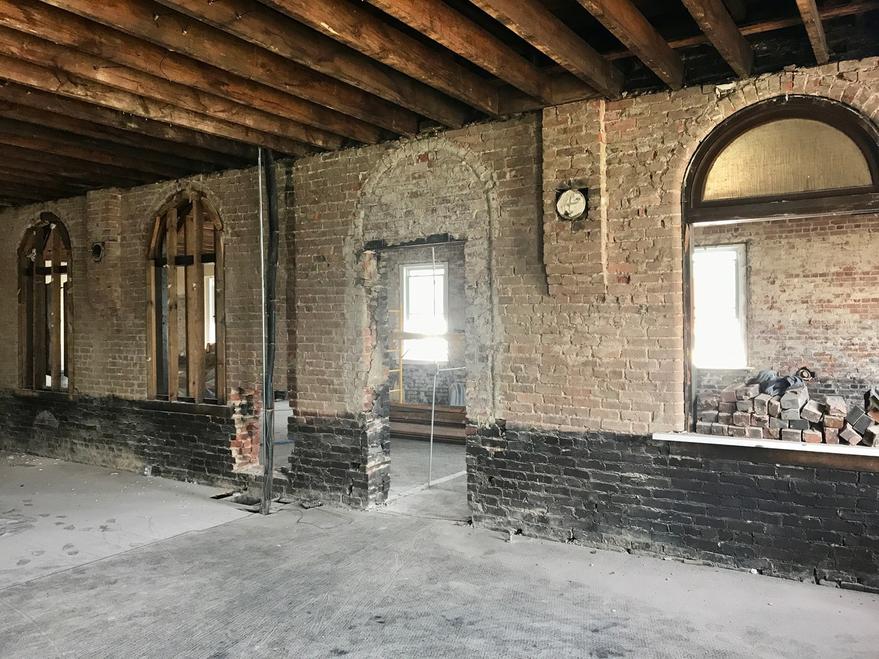 Brick in rough condition