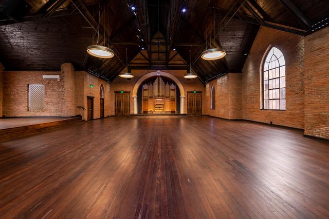 Adelaide Hall wide angle