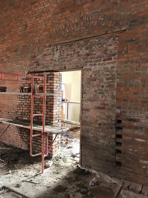 Restoring brick entry