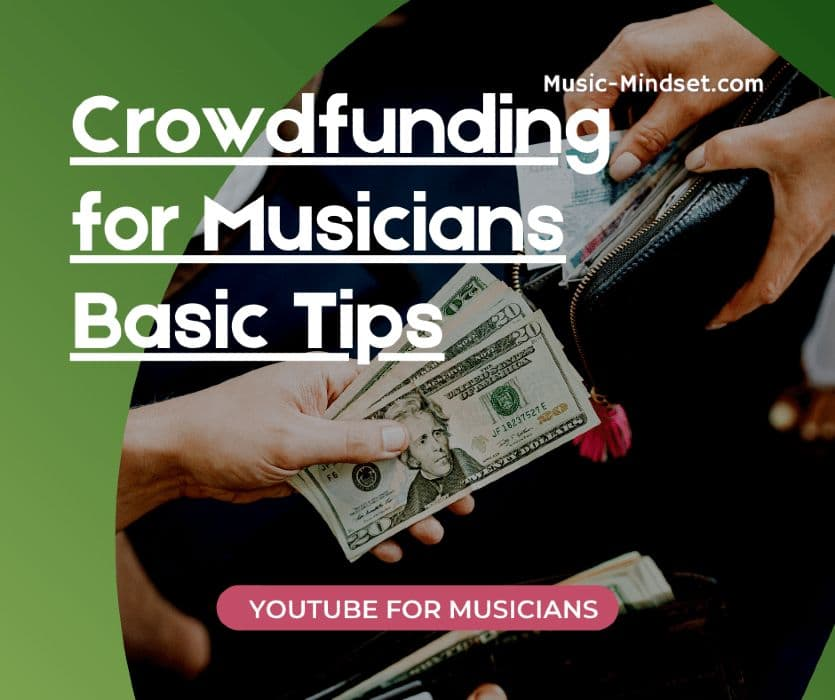 A good crowdfunding campaign can help you achieve your ultimate goal as a musician. Getting a new album recorded, mixed and mastered, or preparing for a live tour. It is a great way to engage with your fans and offer them something in return.